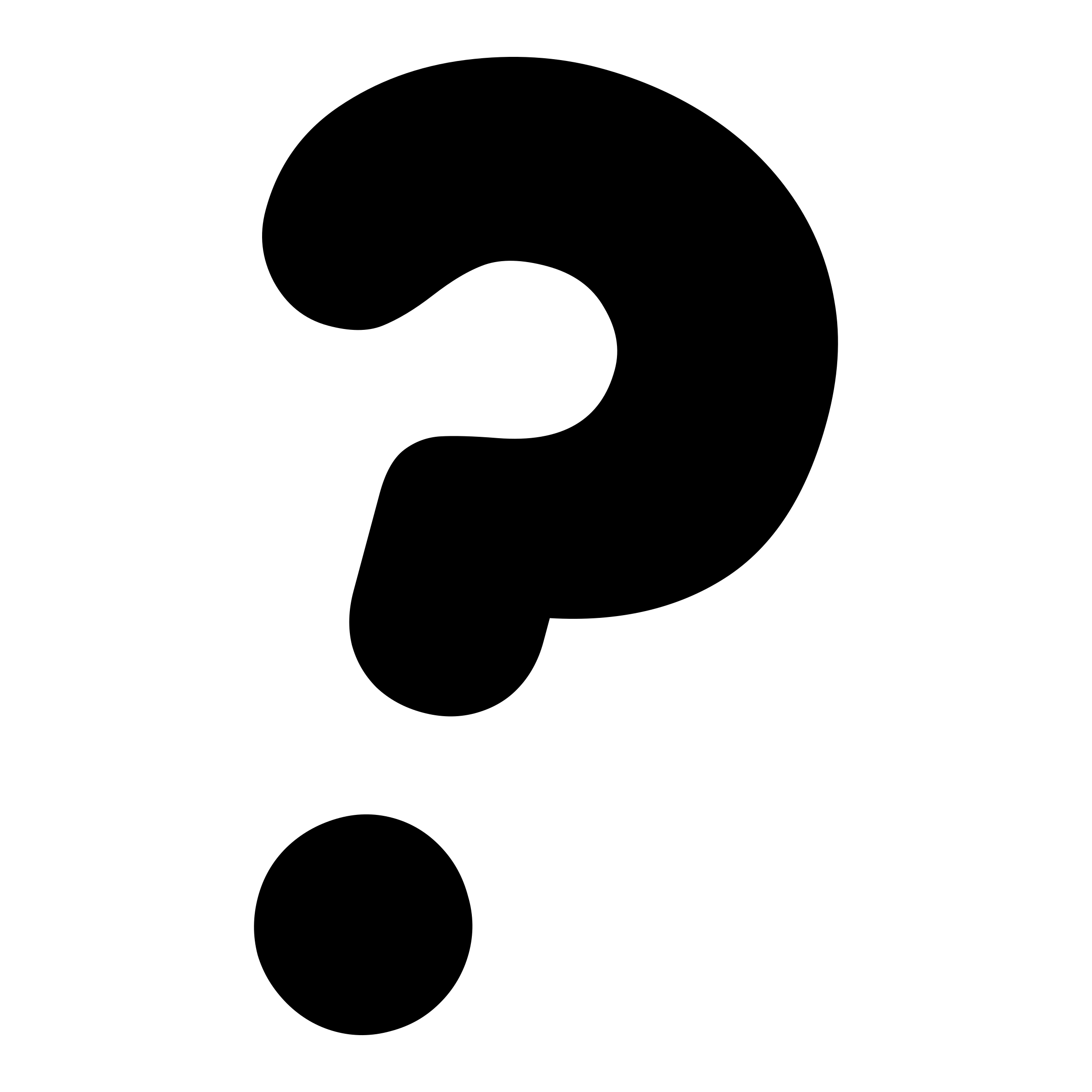 Printable question mark clipart 2 .