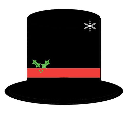 Printable Snowman Hat Pattern | ... rendition of the hat that Frosty the Snowman