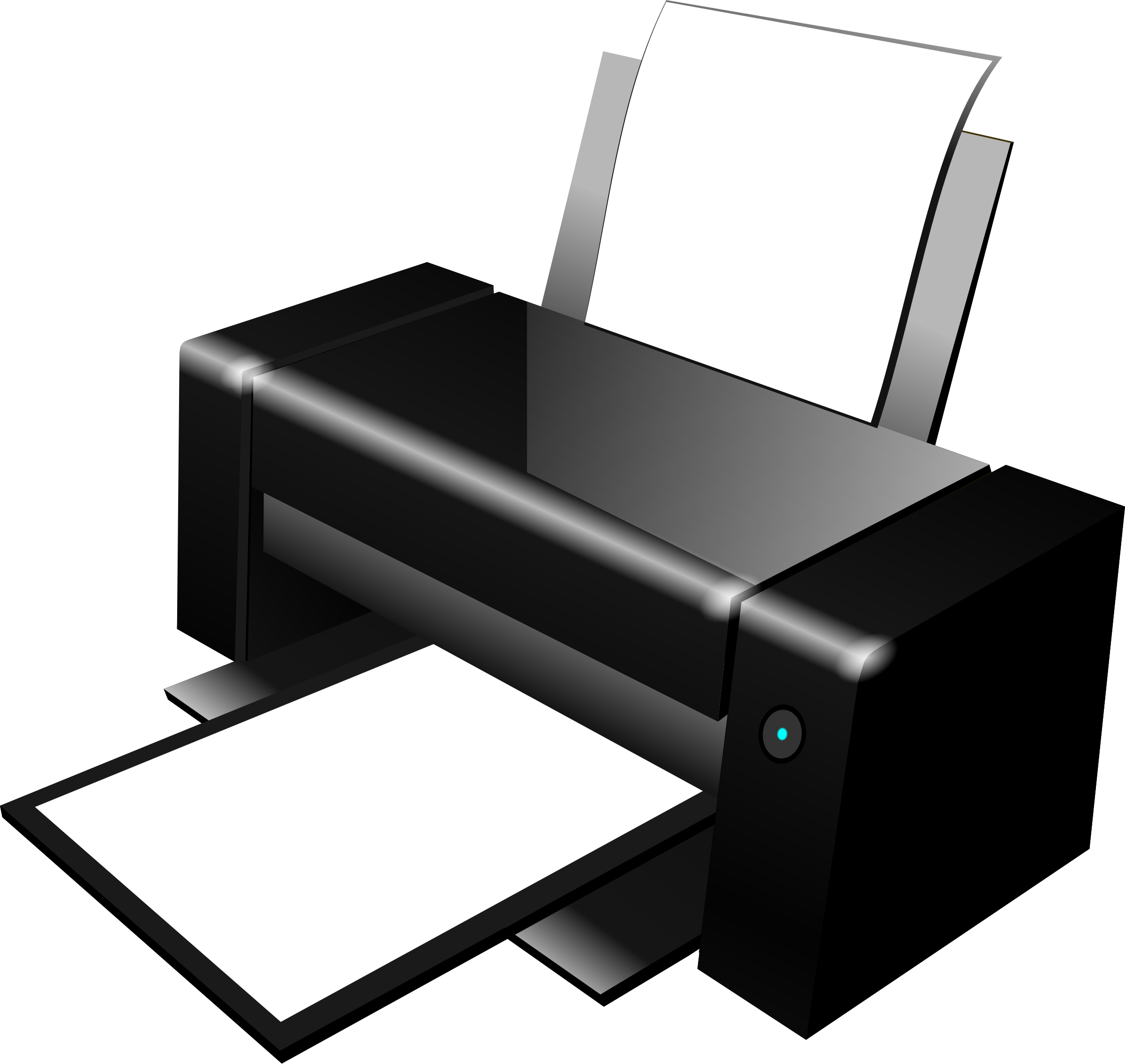 Printer 09 Clipart Printer 09