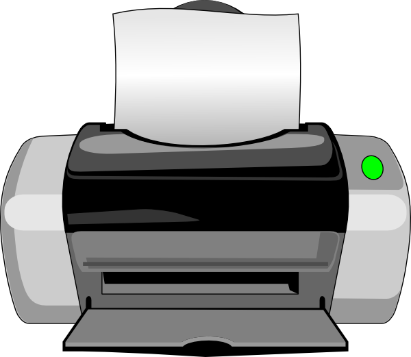 Printer Clipart Image Printer