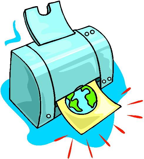 Printers Clip Art-Printers clip art-17