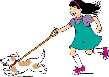Professional Dog Walking Clip Art, Vecto-Professional Dog Walking Clip Art, Vector Professional Dog Walking-2