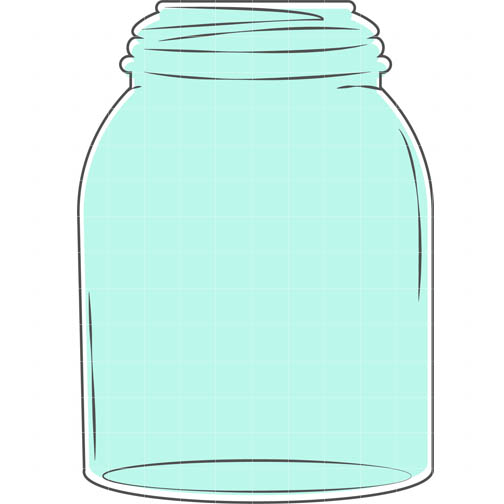 Professional mason jar clip .
