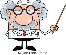 ... Professor Holding A Pointer - Funny -... Professor Holding A Pointer - Funny Scientist Or Professor.-14