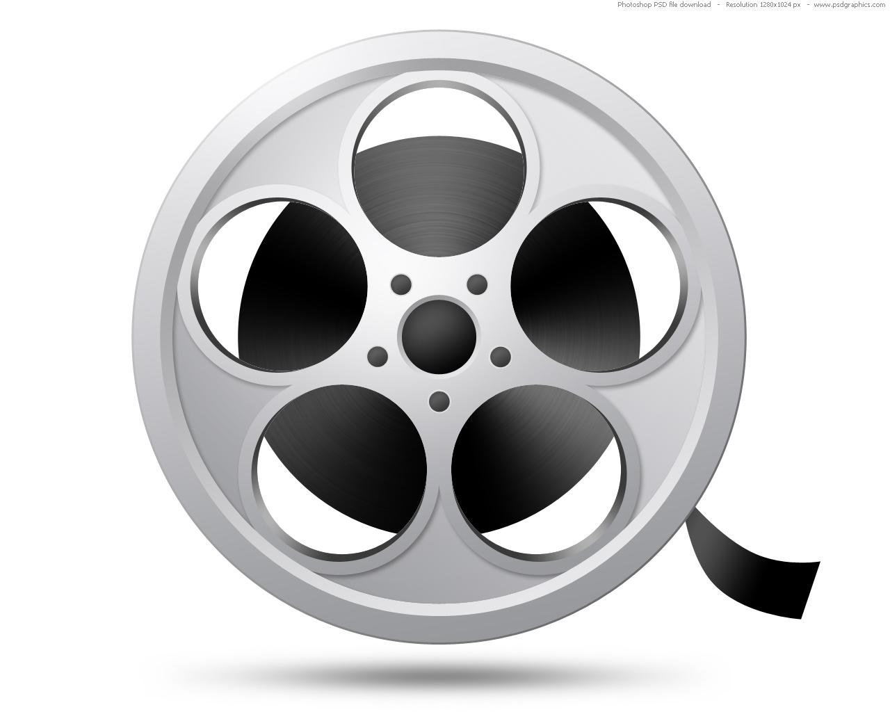 Psd Camera Film Reel Icon Psdgraphics