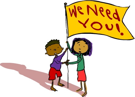 Pta Stephenson Elementary Sch - We Need You Clip Art