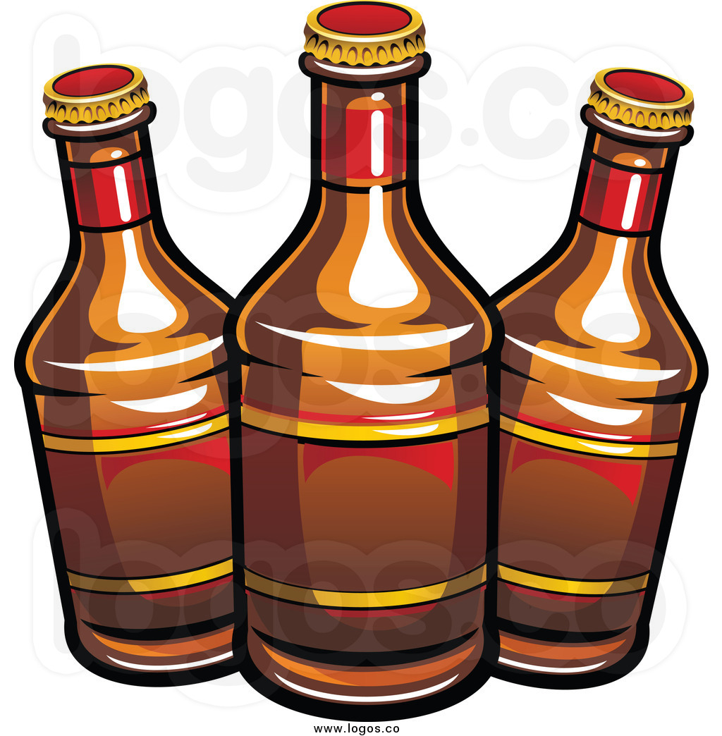 Pub Clipart Royalty Free Clip Art Vector-Pub Clipart Royalty Free Clip Art Vector Logo Of Three Beer Bottles By-13