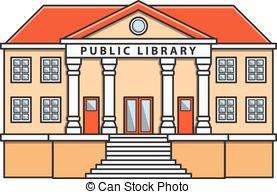 Public library vector .