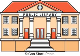 Public library vector .-Public library vector .-7