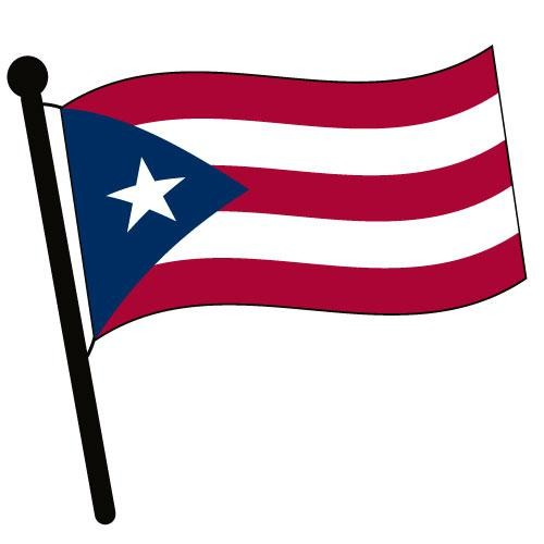 Puerto Rico Waving Flag Clip Art-Puerto Rico Waving Flag Clip Art-13
