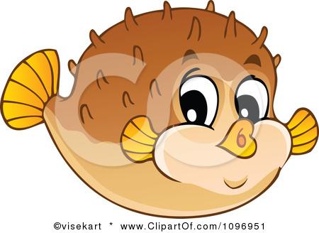 Puffer Fish Clip Art Photo 1096951 Clipart Happy
