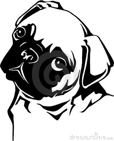 pug clipart-pug clipart-2