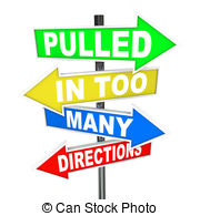 ... Pulled in Too Many Directions Signs Stress Anxiety - The.
