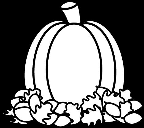 Pumpkin black and white black .