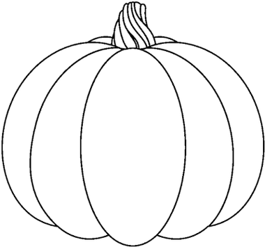 Pumpkin. Black And White Pumpkin Clip Art ...