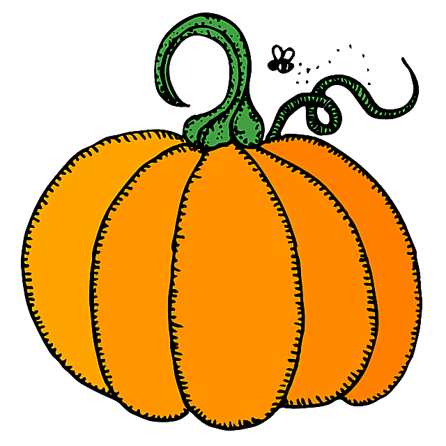 Pumpkin Clip Art at Clker clipartall.com-Pumpkin Clip Art at Clker clipartall.com-1