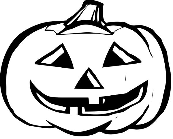 Pumpkin Clip Art Black And White Clipart-Pumpkin Clip Art Black And White Cliparts Co-11