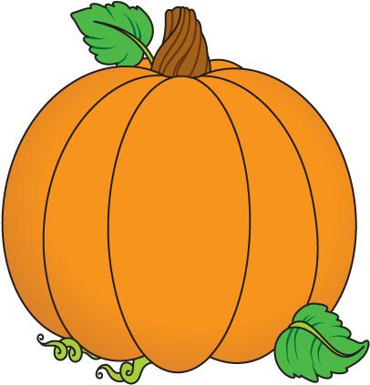 Pumpkin Clip Art For Preschoo - Clipart Pumpkins
