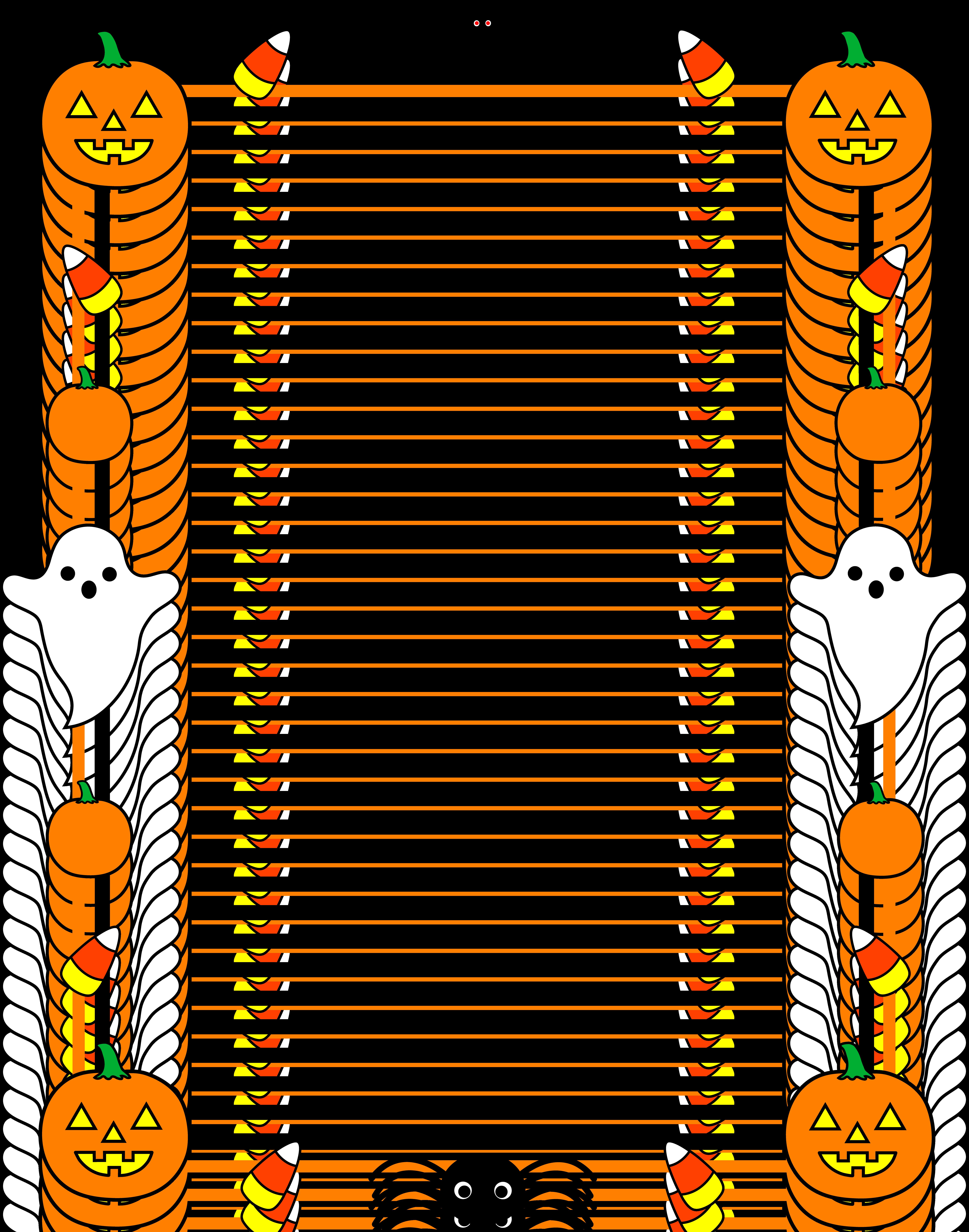 Pumpkin Clip Art u0026middot; certificate clipart