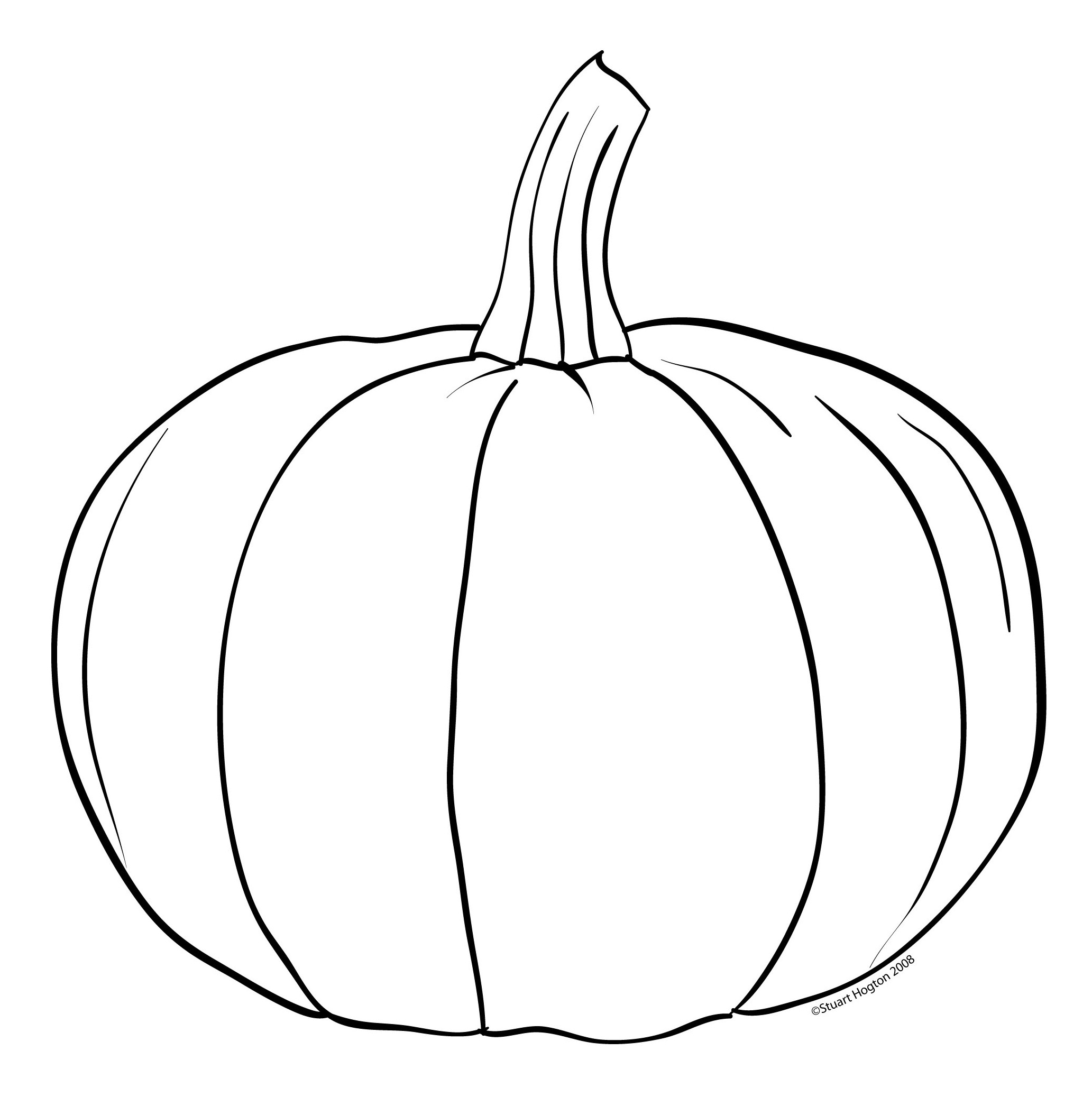 Pumpkin Coloring Template Coloring Pages For Adults Coloring Pumpkin