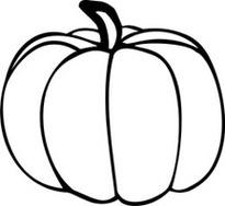 Pumpkin Line Drawing-Pumpkin Line Drawing-12