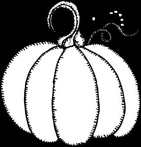 Pumpkin Outline Clip Art - Vector Clip A-Pumpkin Outline clip art - vector clip art online, royalty free .-16