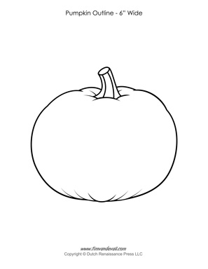 Pumpkin Outline-Pumpkin Outline-15