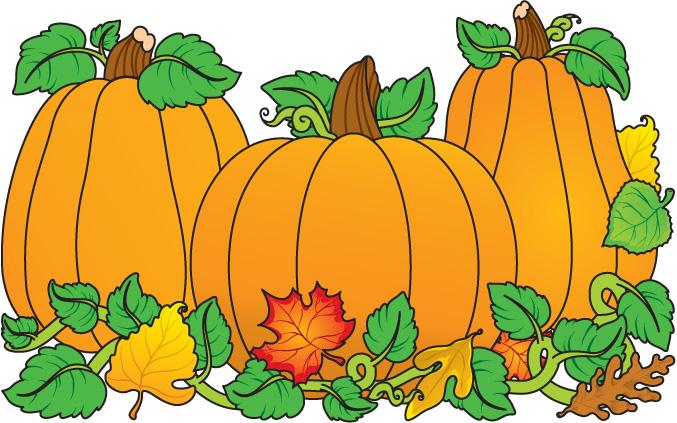 Pumpkins - Clipart Pumpkins