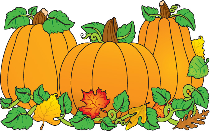 Pumpkins - Pumpkins Clipart