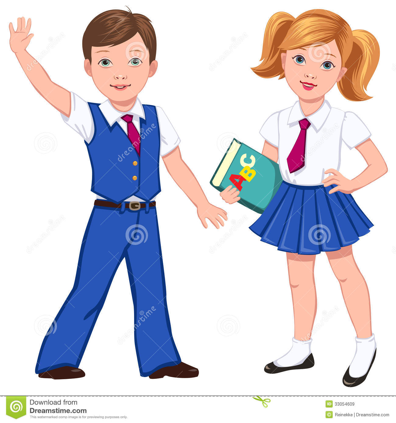Pupils With Book Royalty Free Stock Imag-Pupils With Book Royalty Free Stock Images Image 33054609-12