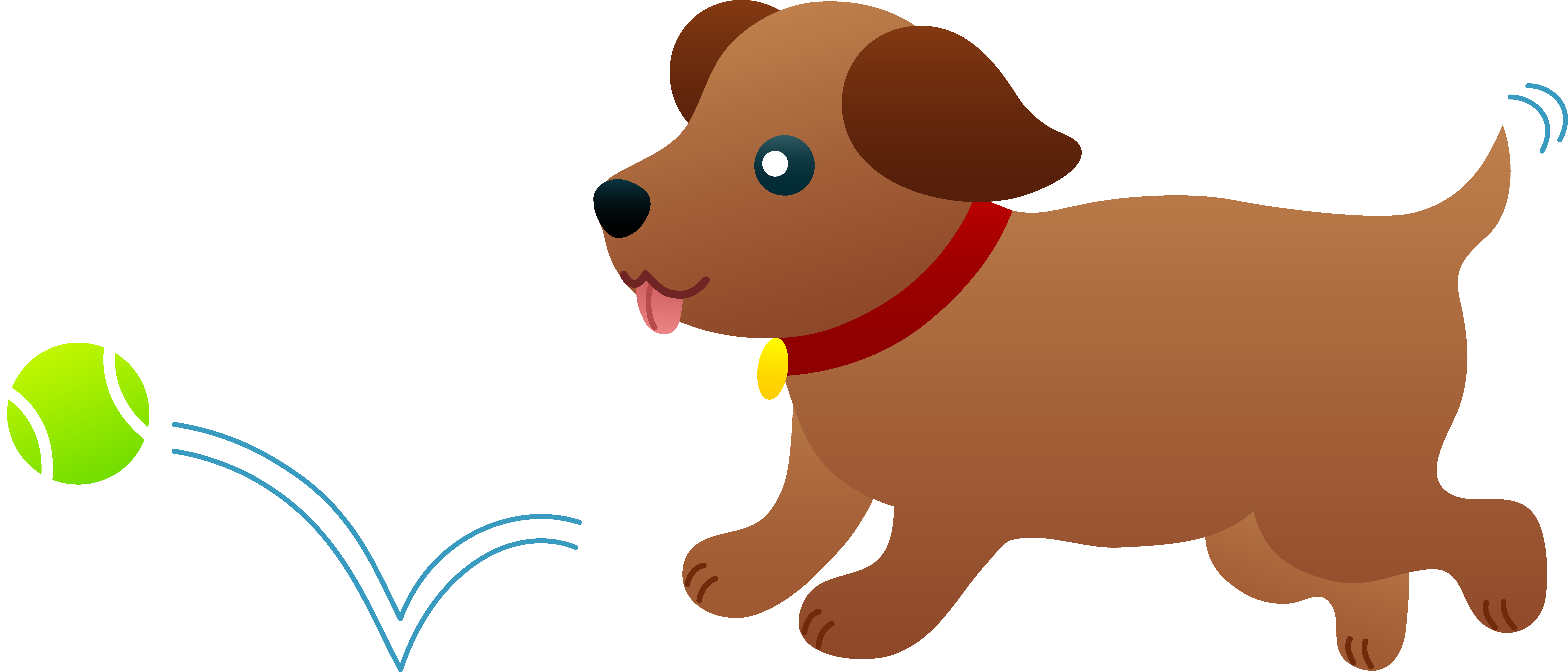 Puppy Chasing After Ball - Free Clip Art-Puppy Chasing After Ball - Free Clip Art-18