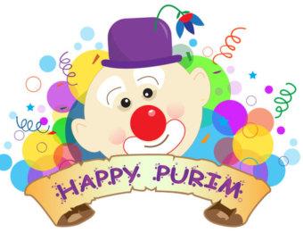 Purim Celebration Clip Art