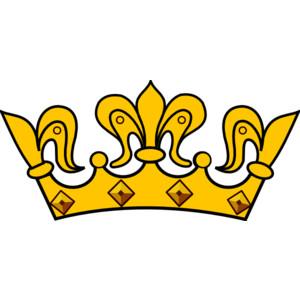 purple crown clipart