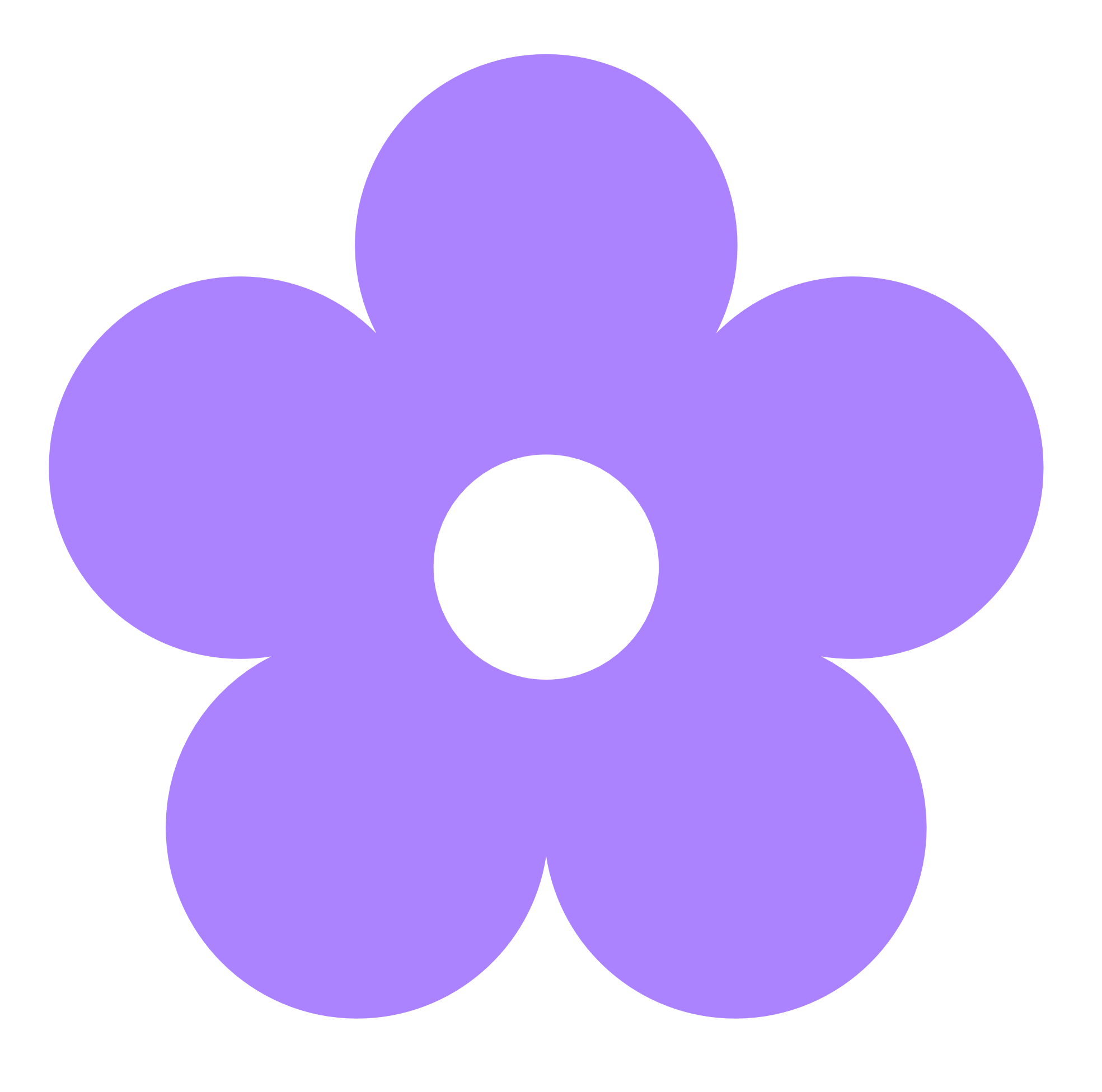 Purple Flower Border Clipart-purple flower border clipart-7