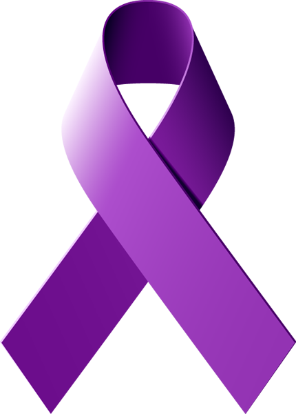 ... Purple Awareness Ribbon Clip Art ...
