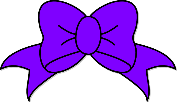 Purple Bow Clip Art At Clker Com Vector -Purple Bow Clip Art At Clker Com Vector Clip Art Online Royalty-17