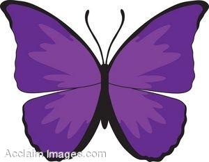 Purple Butterfly Clip Art-purple butterfly clip art-12