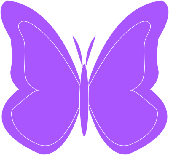 Purple Butterfly Clipart ...-Purple butterfly clipart ...-17