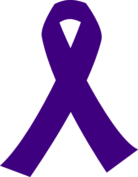 Purple Cancer Ribbon Clip Art at Clipart library - vector clip art