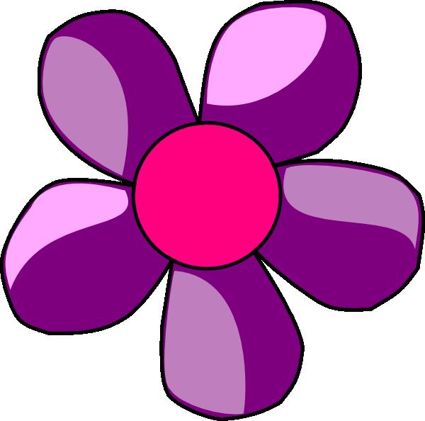 Purple Flower Clip Art At Clker Com Vect-Purple Flower Clip Art At Clker Com Vector Clip Art Online Royalty-9
