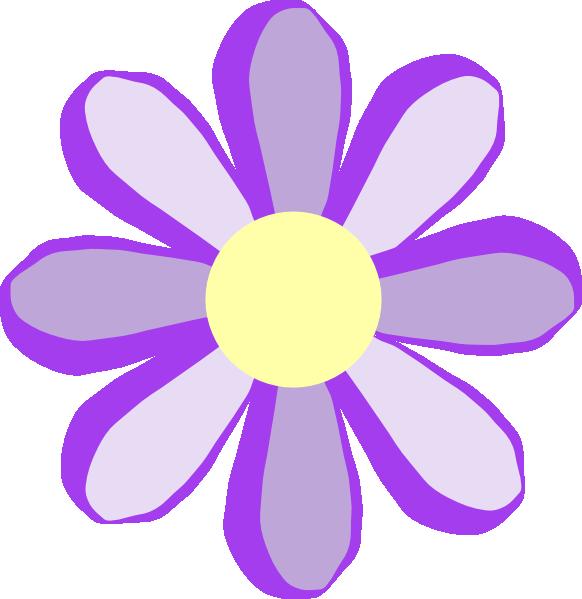 Purple Flower Clip Art At Clker Com Vect-Purple Flower Clip Art At Clker Com Vector Clip Art Online Royalty-8