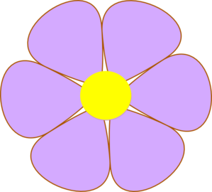 Purple Flower Clip Art-Purple Flower Clip Art-12