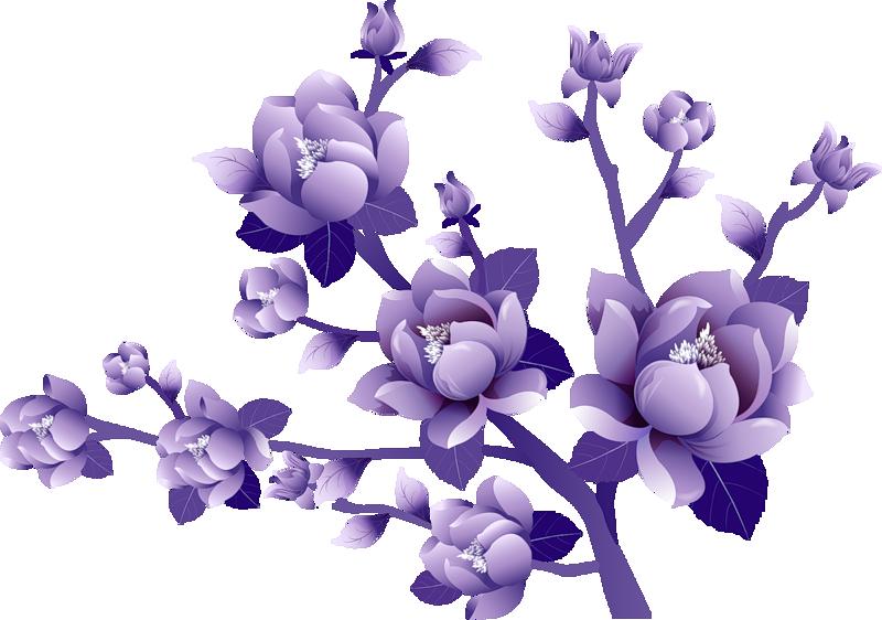Purple Flower Clipart Clipart Best-Purple Flower Clipart Clipart Best-12
