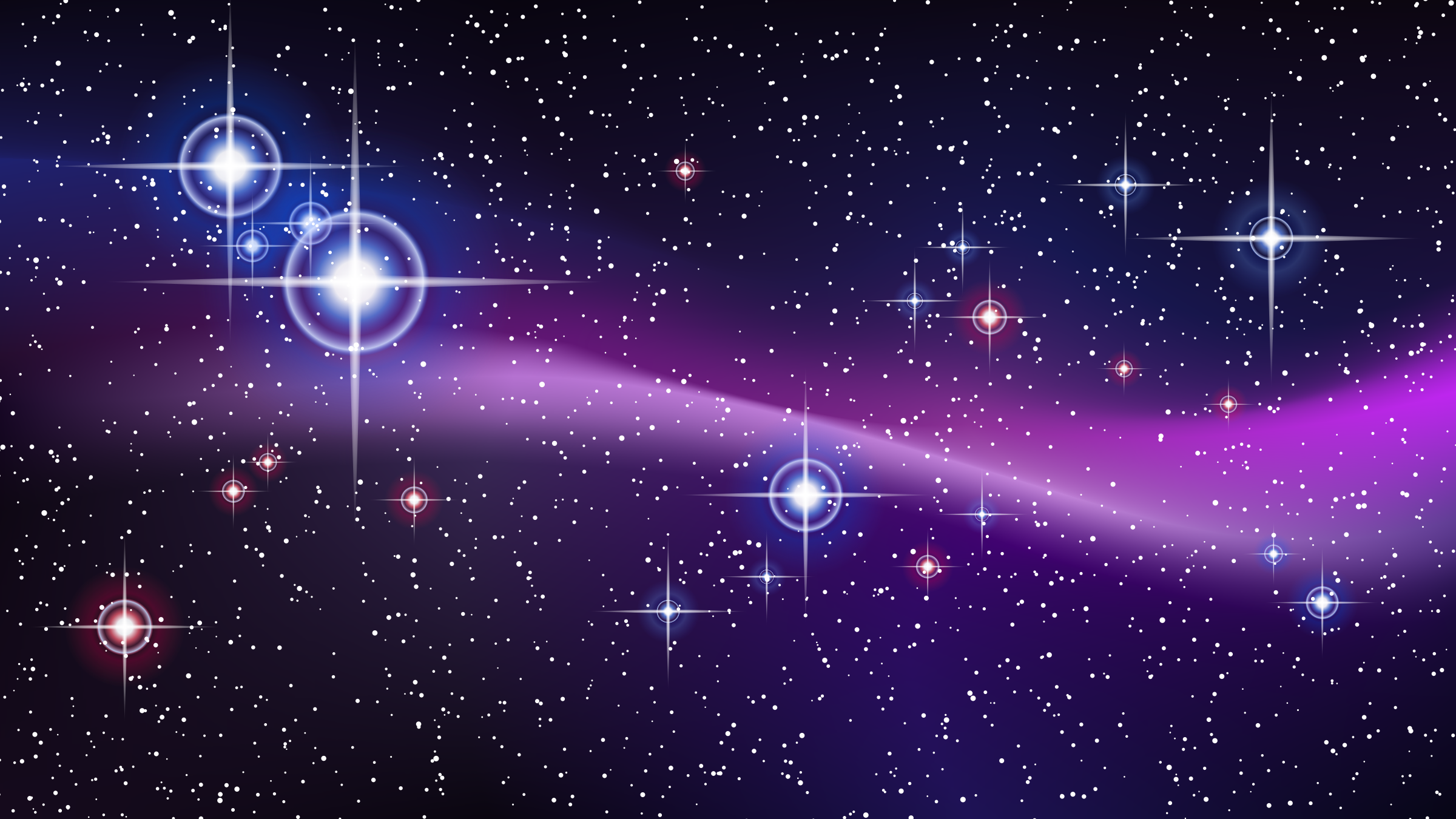 Purple Galaxy Clipart