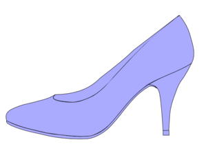 Purple High Heel Clipart #1 - Heels Clipart