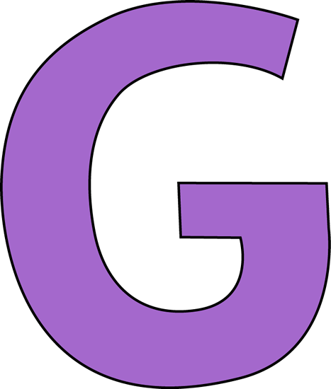 Purple Letter G-Purple Letter G-17