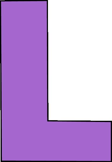 Purple Letter L Clip Art Image Large Pur-Purple Letter L Clip Art Image Large Purple Capital Letter L-16