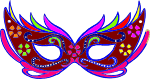 Purple Masquerade Mask - Fnc ..-Purple Masquerade Mask - Fnc ..-14