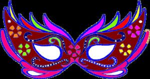 Purple Masquerade Mask - Fnc ..