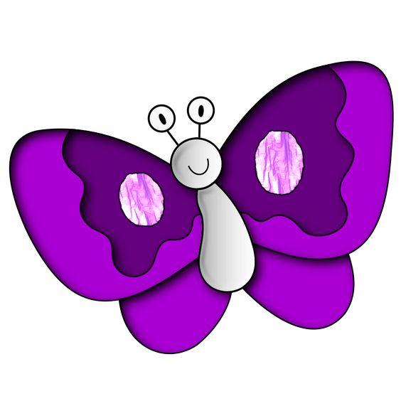 Purple U0026middot; Purple Butterfly Cli-Purple u0026middot; Purple Butterfly Clip Art ...-18